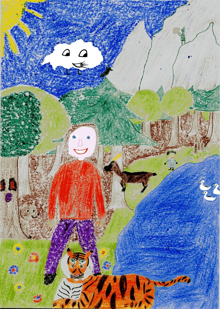 Titelbild: Am Teich der Waldgespenster
