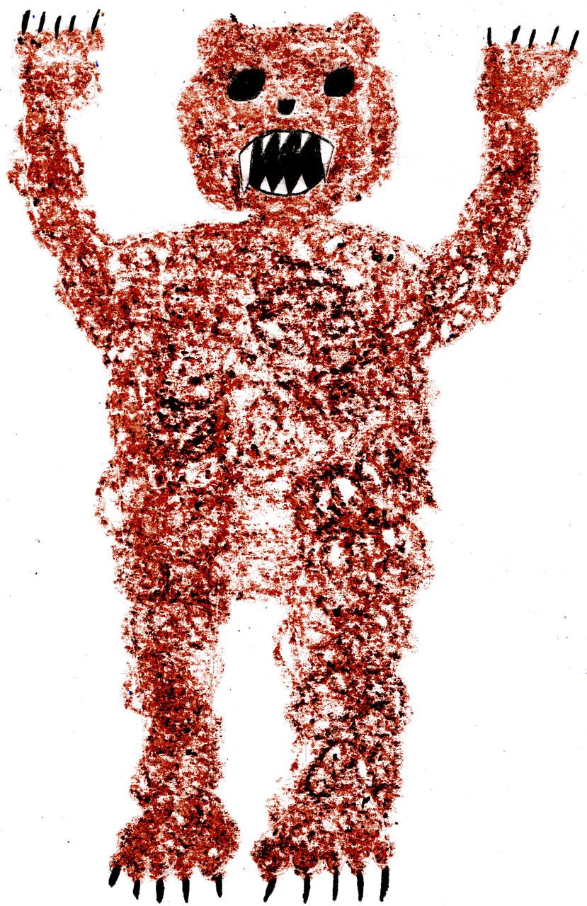 Ein furchterregendes Monster