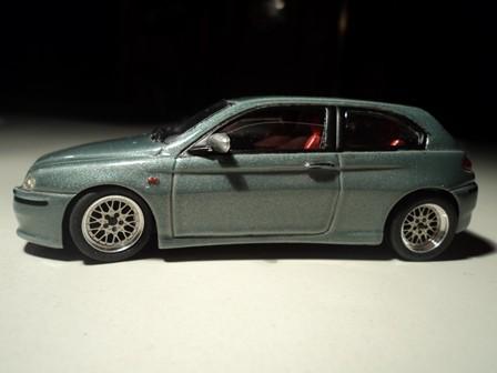 Alfa 147 GTA mit mehrteiligen BBS Felgen