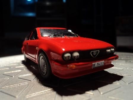 Ein 2.0 GTV in echtem alfarot.