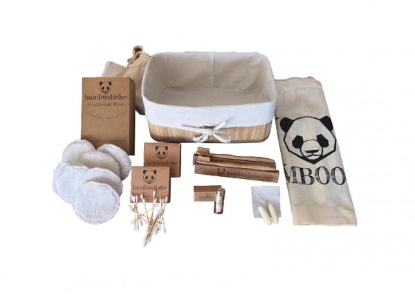 Bambusliebe Geschenkeset Badezimmer