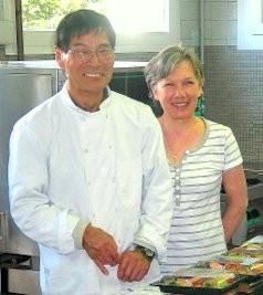Takuzo Sugimoto et son épouse