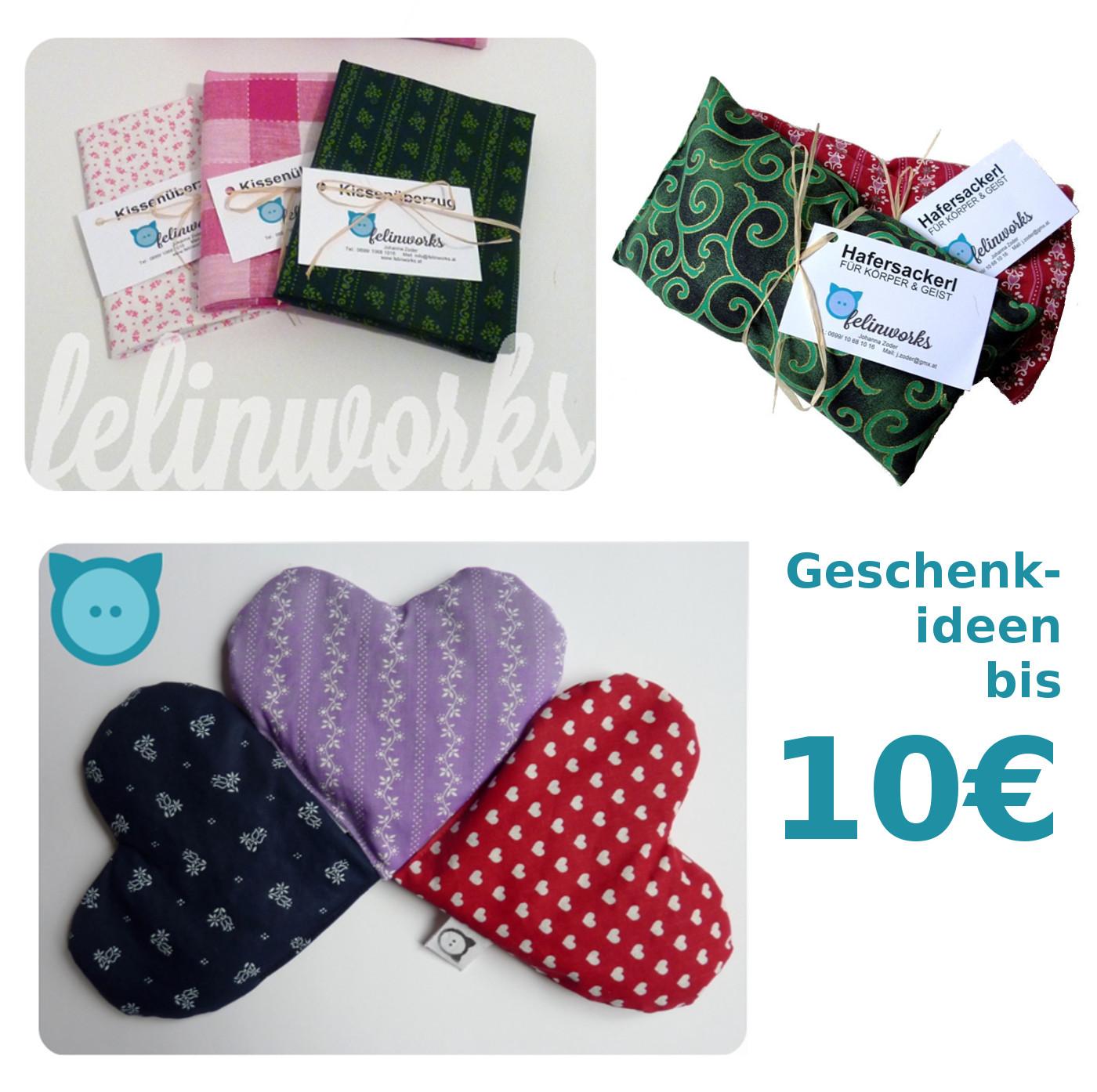 Bis 10€: Hafersackerl mittel, Haferherz, Kissenbezüge für Zirbenkissen