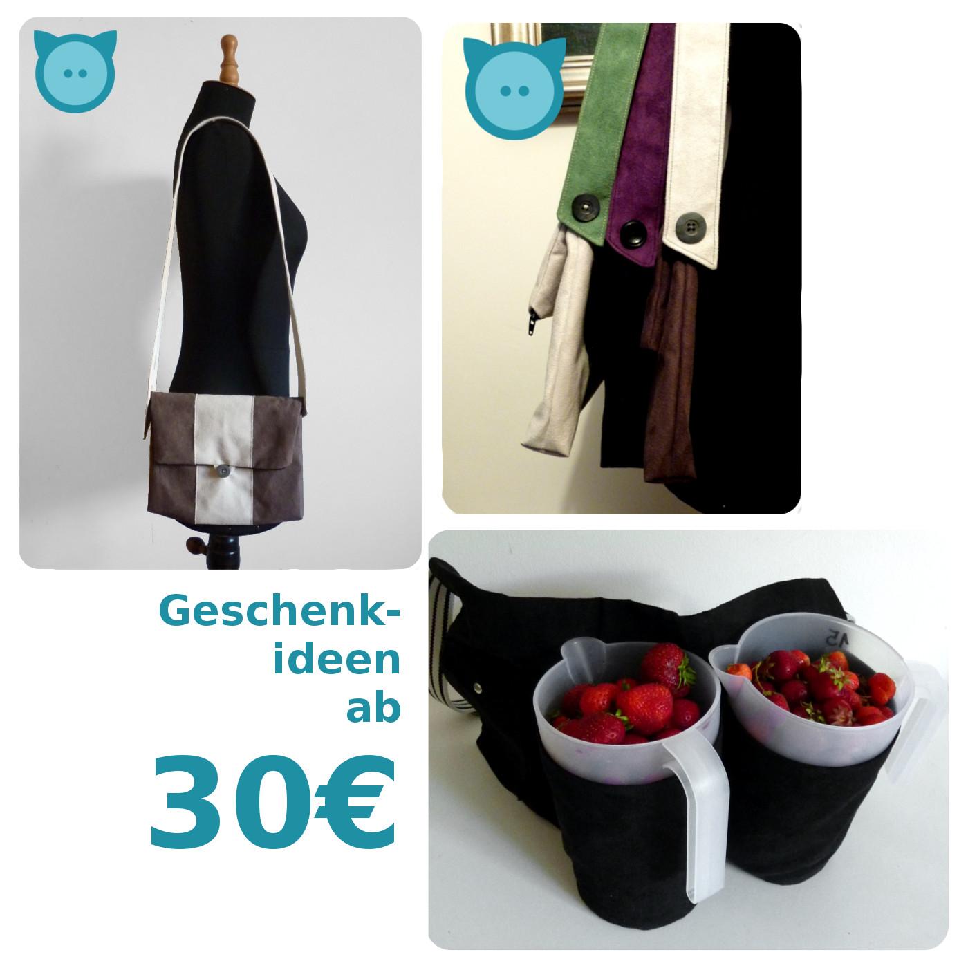 Ab 30€: Tasche Pangaea, Sammelschürze