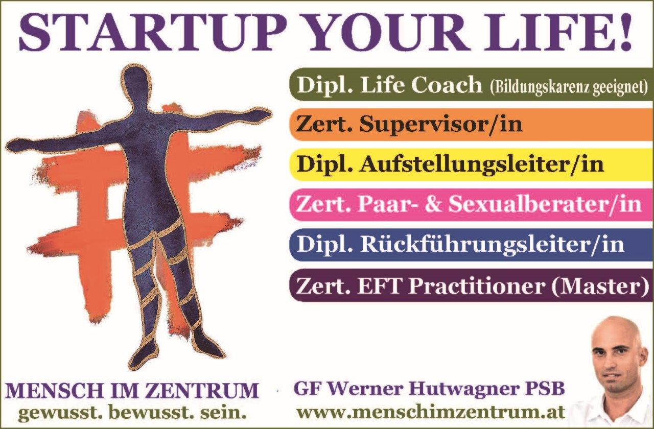 STARTUP YOUR LIFE!