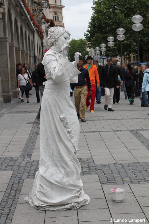 Kleinkunst auf dem Marienplatz