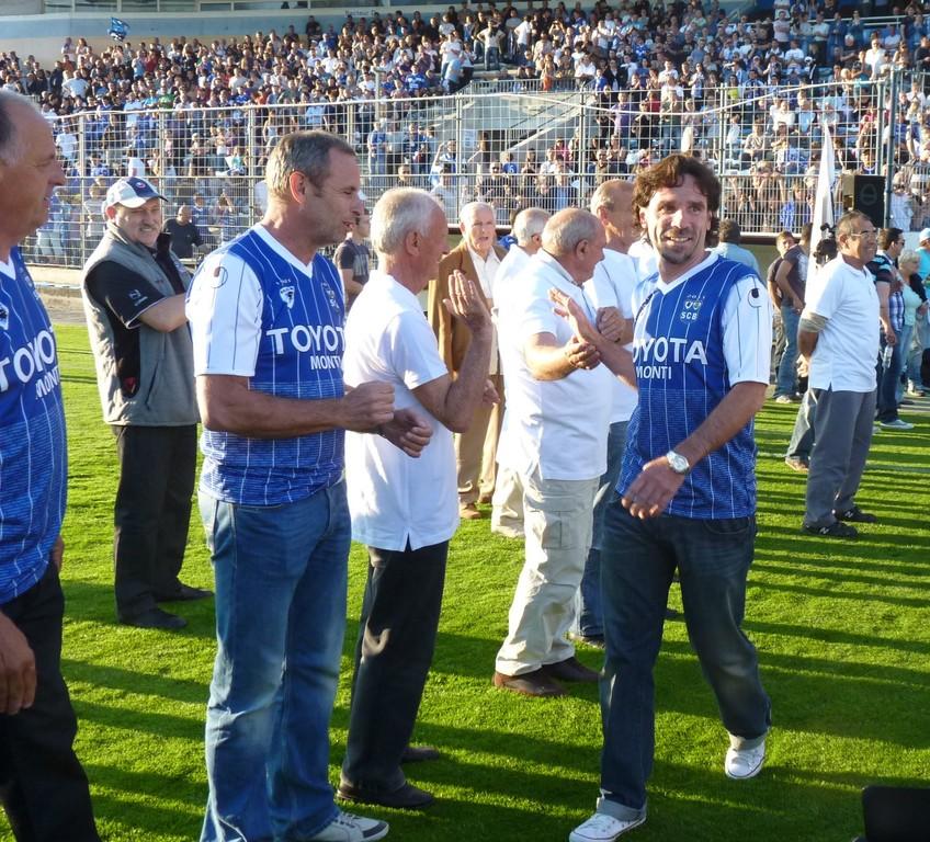 Louis Marcialis sous le maillot bleu : souvenirs, souvenirs