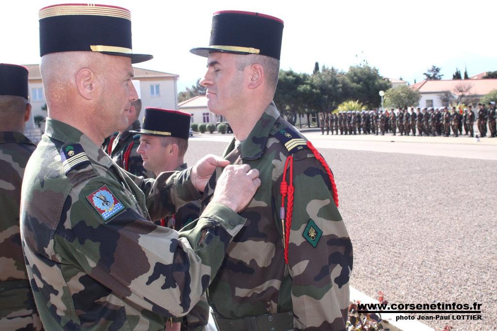 Le sergent-chef Mihai