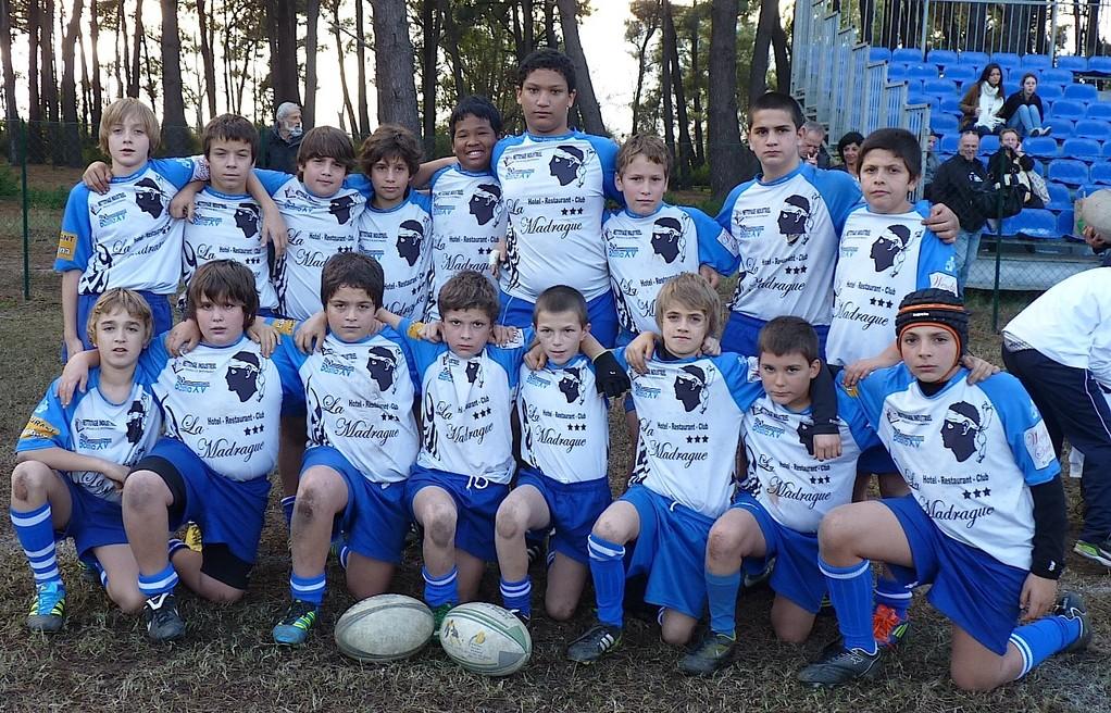Les U13 de Bastia XV