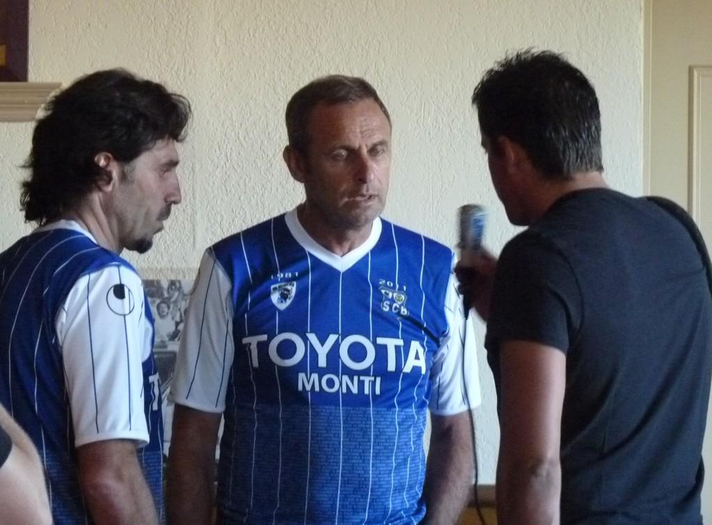 L'heure de l'interview pour Paul Marchioni et Louis Marcialis