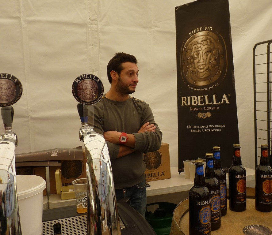A Ribella, c'est la bière bio de Patrimonio