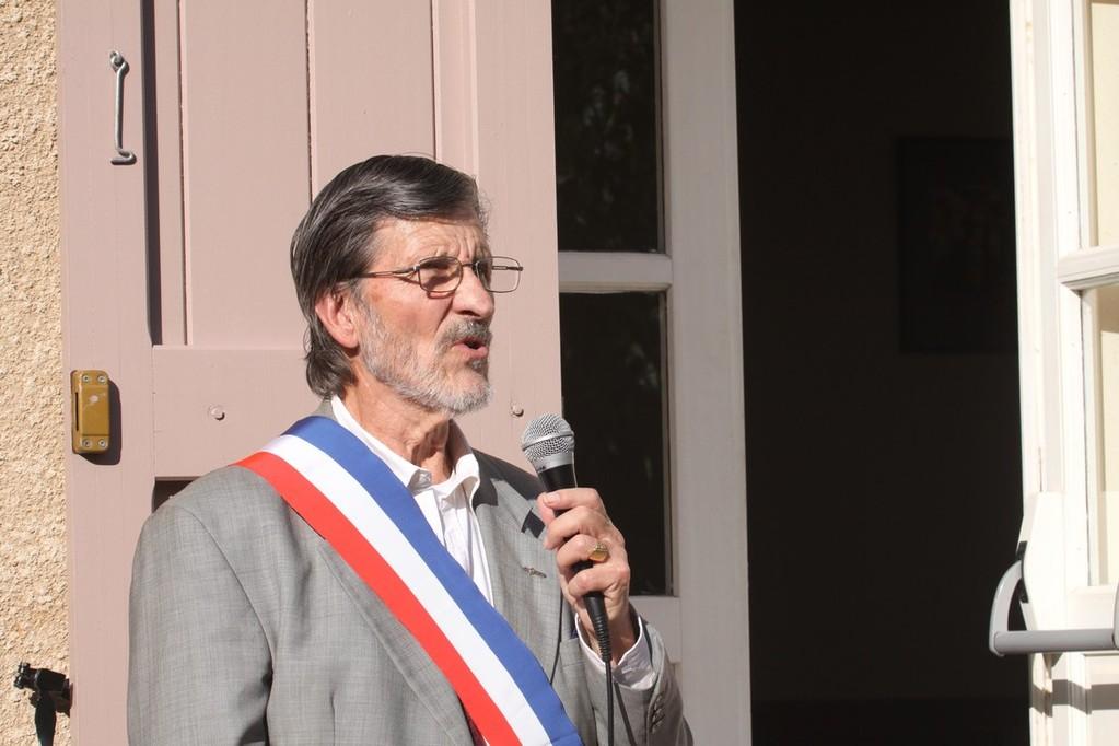 Pierre Oberti déterminé à poursuivre ses activités de maire