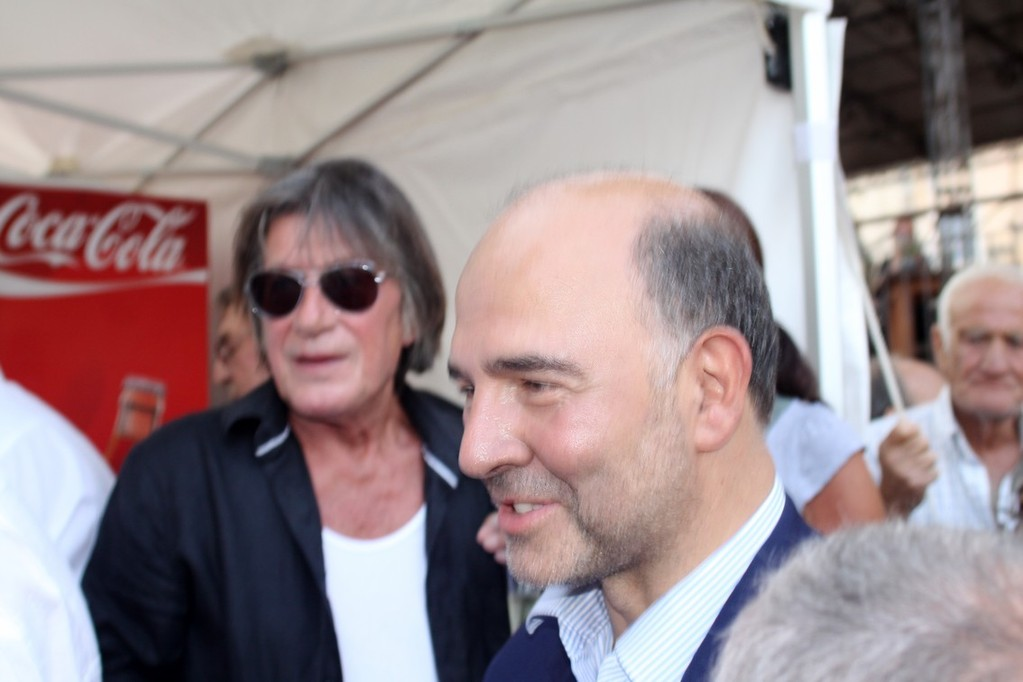 Pierre Moscovici apprécie
