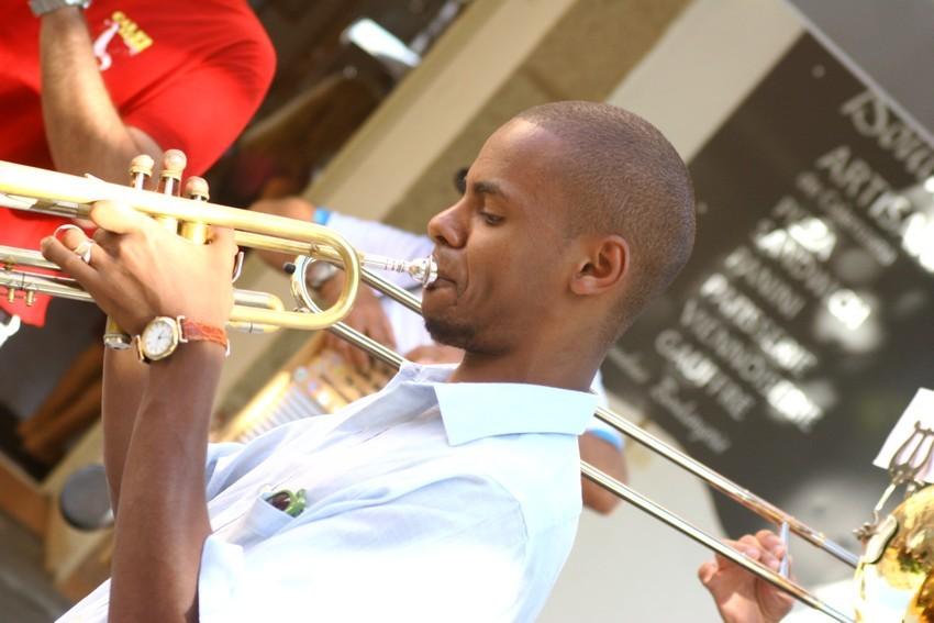 Eric Turpin à la trompette
