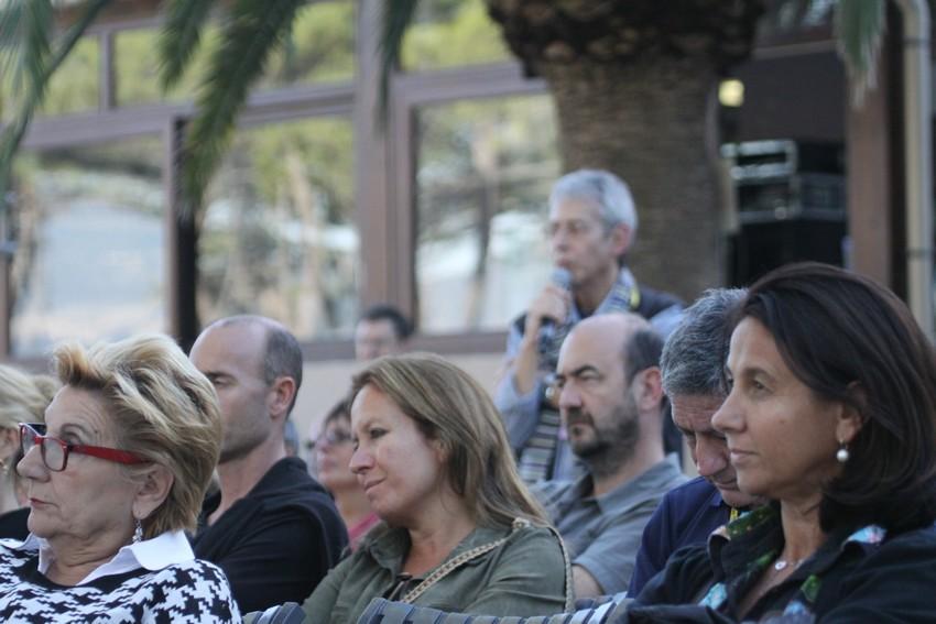 Le public, attentif, lors de la conférence