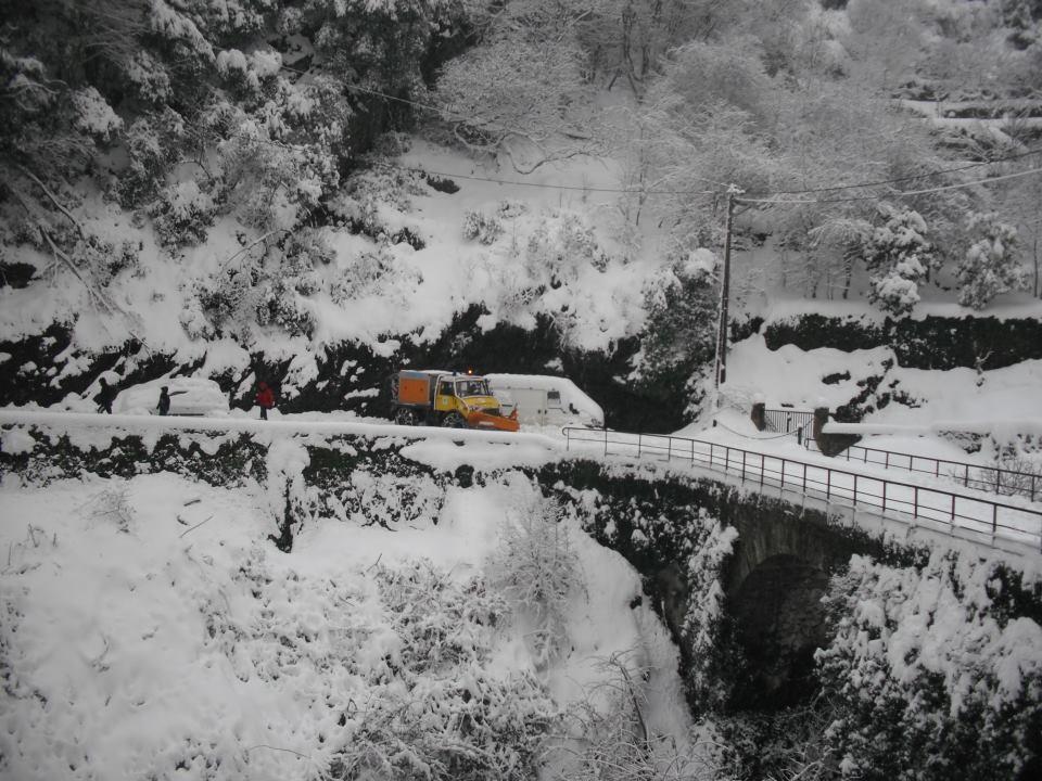 Heureusement les chasse-neige sont là (Photos Lucie Gaspari)