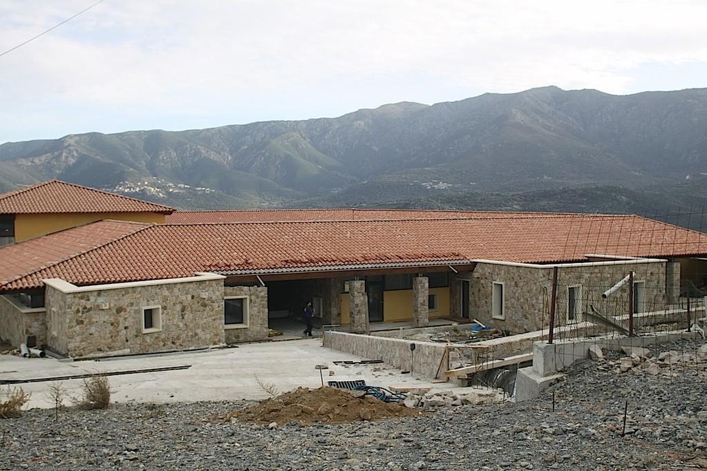 Le chantier de l'école de Monticello