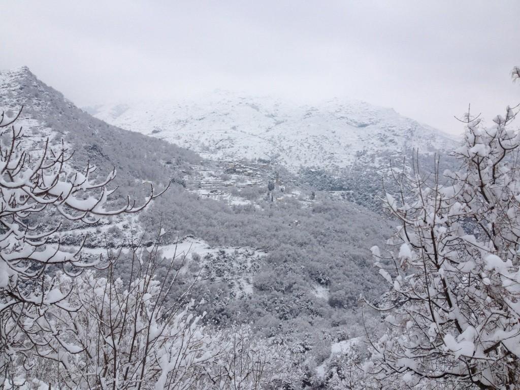 Le village de Pieve dans le Nebbiu