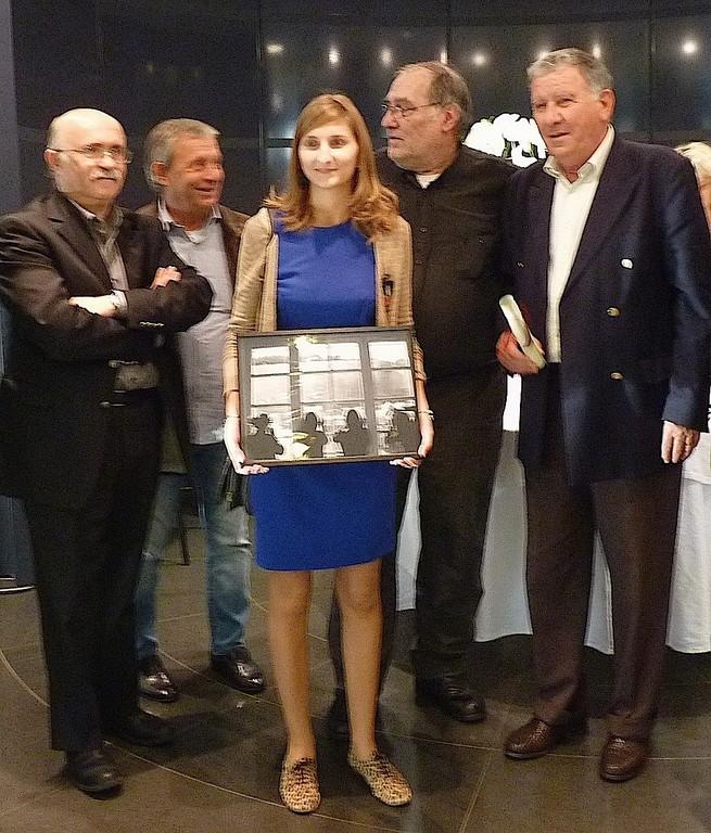 Juliette Olmeta  lauréate du prix jeune public