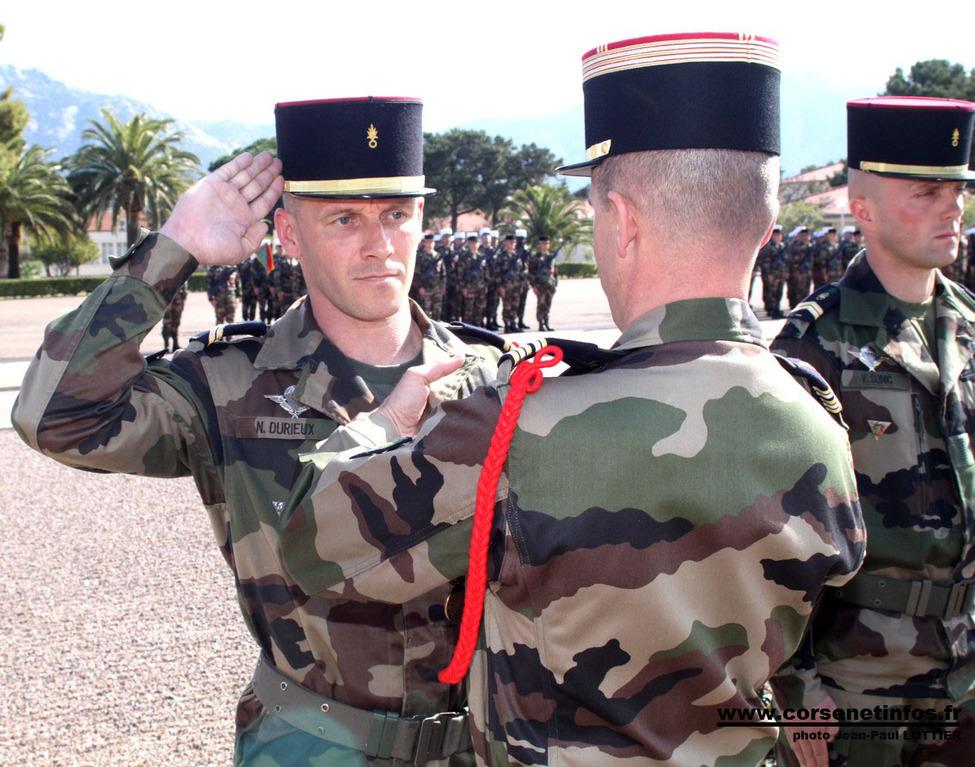Le sergent Durieux à l'ordre de la Brigade