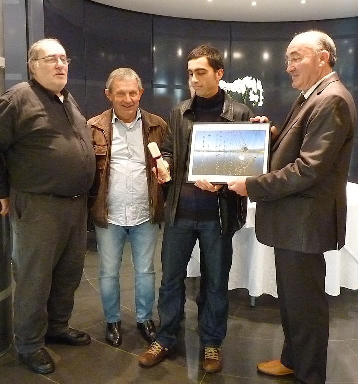 Philippe Marini a reçu le prix professionel