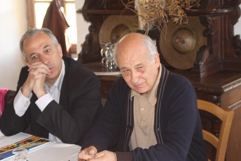 Pierre Ghionga et Toni Casalonga