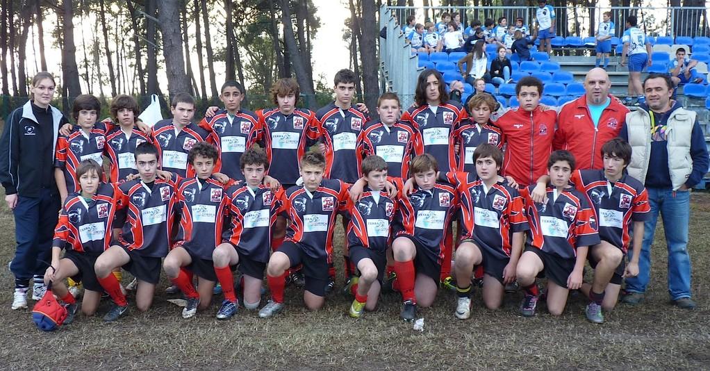 Les U 15 du RC Lucciana