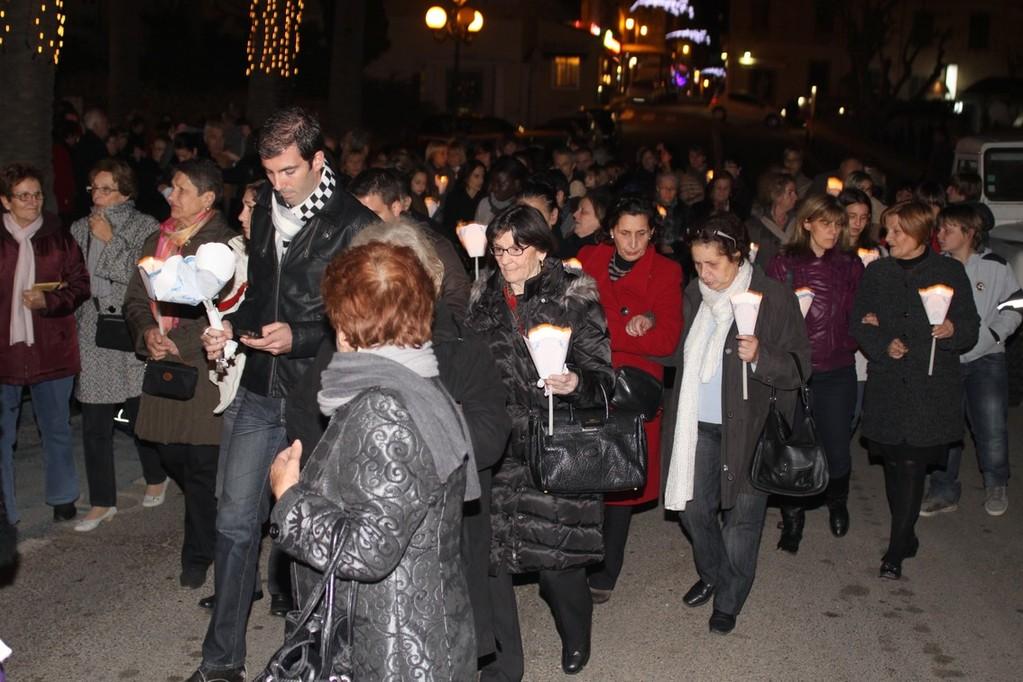 Il y avait foule au départ de la procession