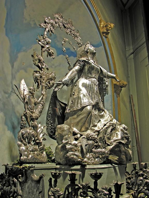 La Vierge d'Argent de Sainte-Marie