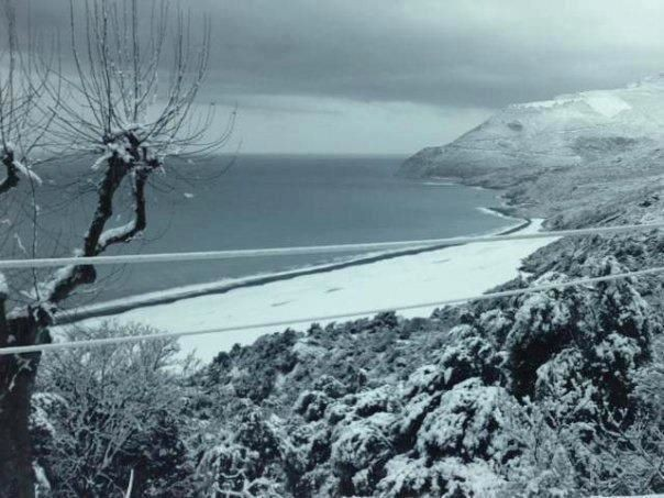 La plage de Nonza (Jean-Baptiste Dominici)