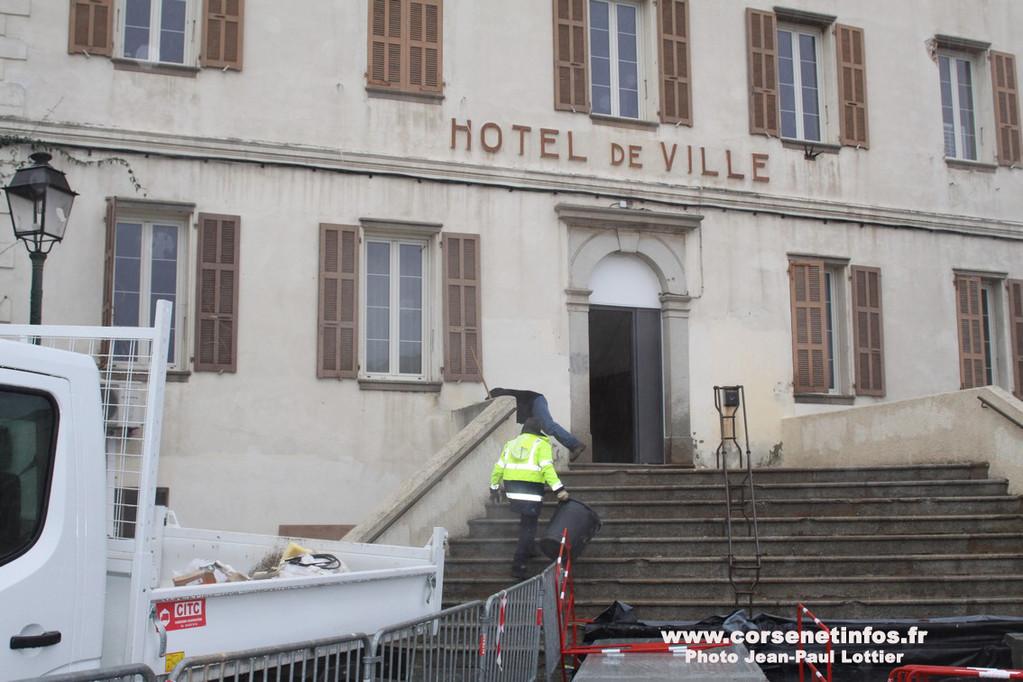 L'hôtel de ville de Calenzana
