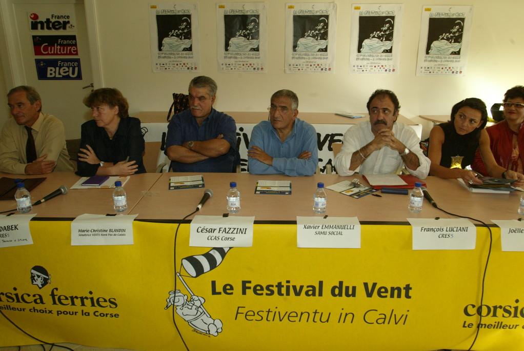 2009 avec Xavier Emmanuelli, directeur du Samu social de Paris