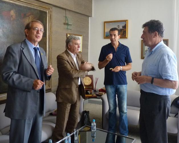 Jean-Pierre Bensaïd, Georges de Zerbi, Paul Pierinelli, Emile Zuccarelli