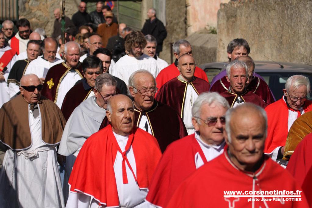 Les confrères ont répondu à l'invitation de leurs collègues de Santa Croce