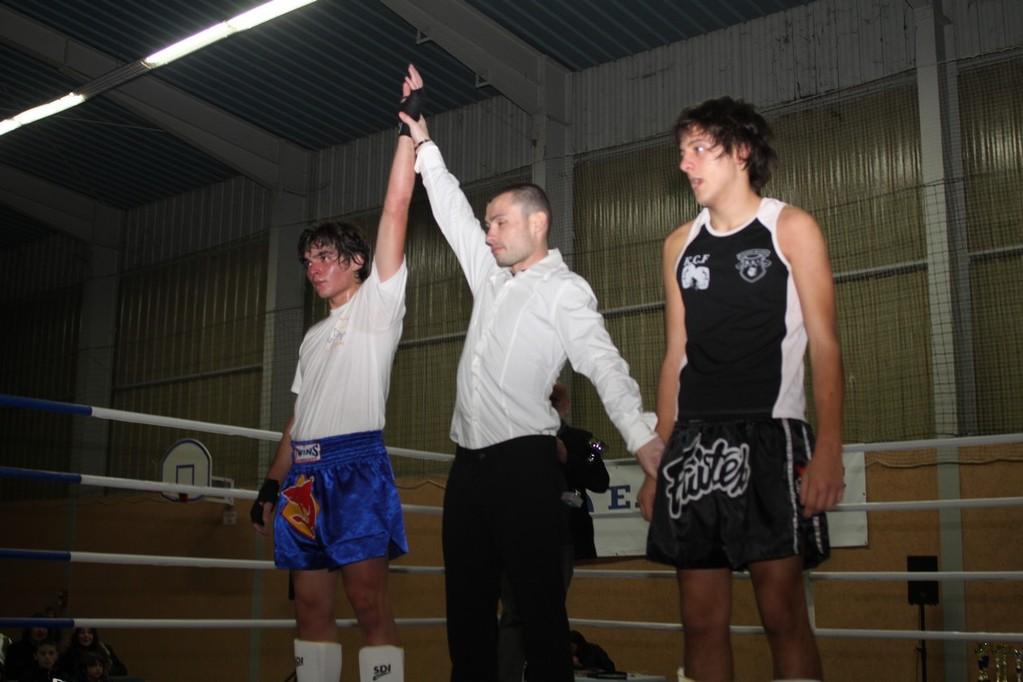 Gagliano (en blanc) vainqueur de Gamblin
