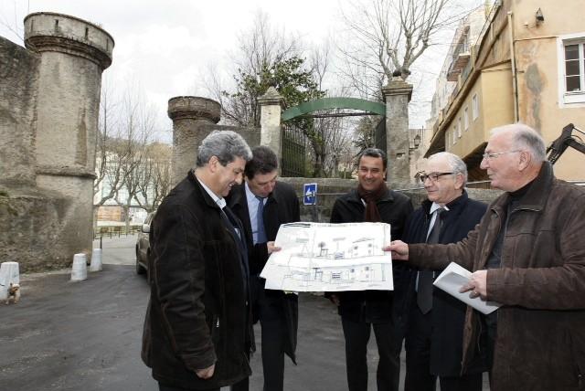 Les élus bastiais à la Citadelle
