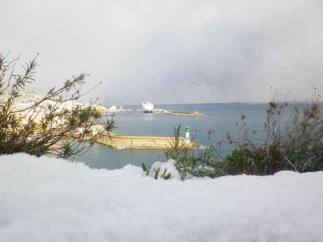 Le Vieux-Port de Bastia vu de la Citadelle (Anaïs Gaggeri)