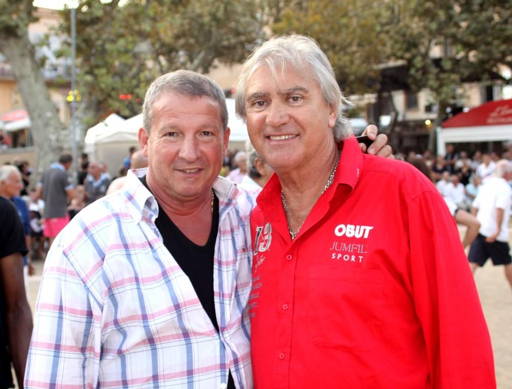 Rolland Courbis et Marc Foyot
