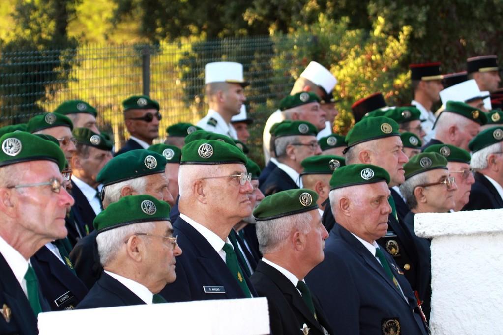 Une forte délégation d'anciens du 2e REP