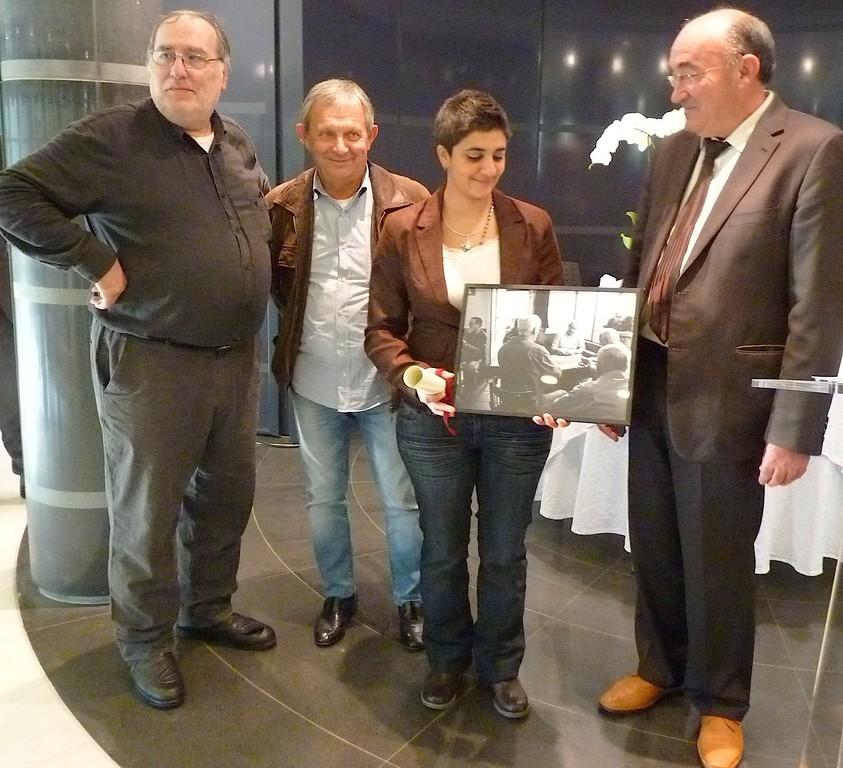 Le prix du président a été remporté par Tatiana Aoun