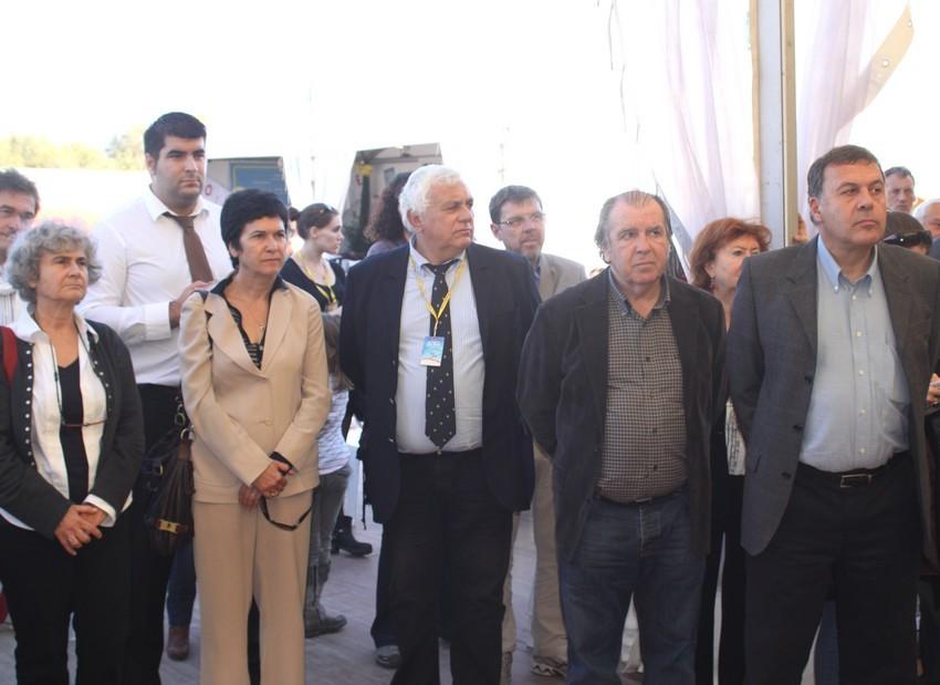 De nombreuses personnalités ont assisté à l'envol du Festival