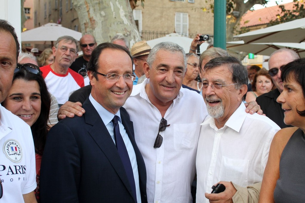 Rencontre de courtoisie avec le maire de L'Ile-Rousse