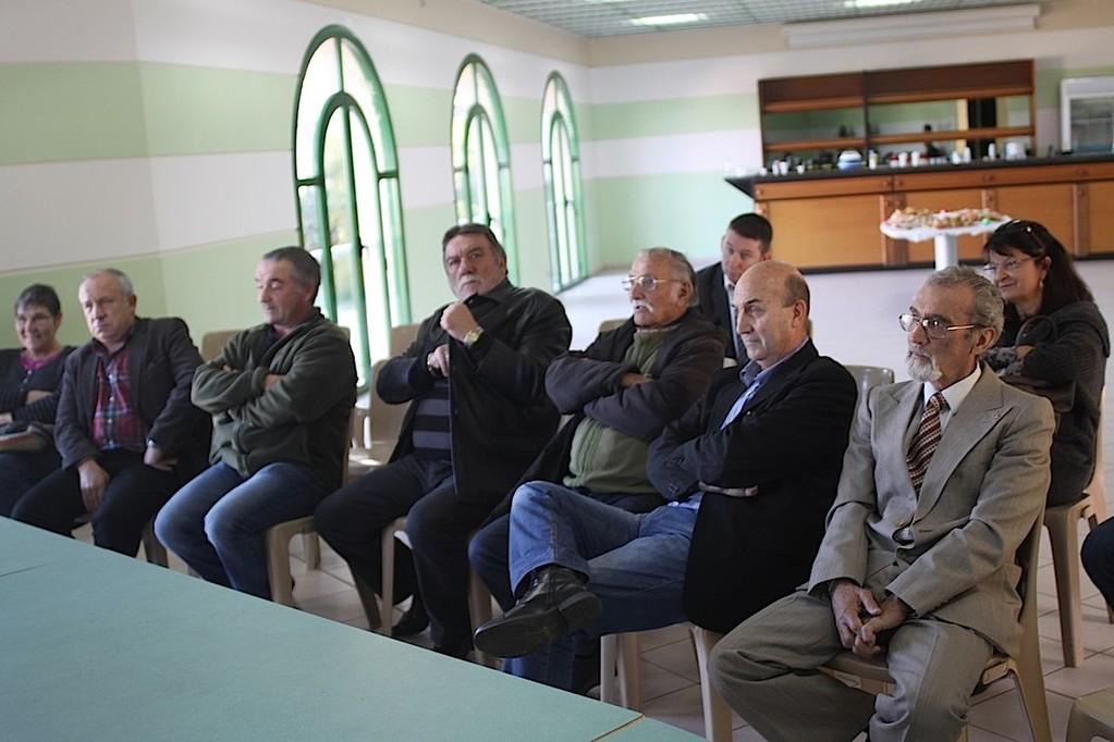 Le conseil municipal de Santa Reparata
