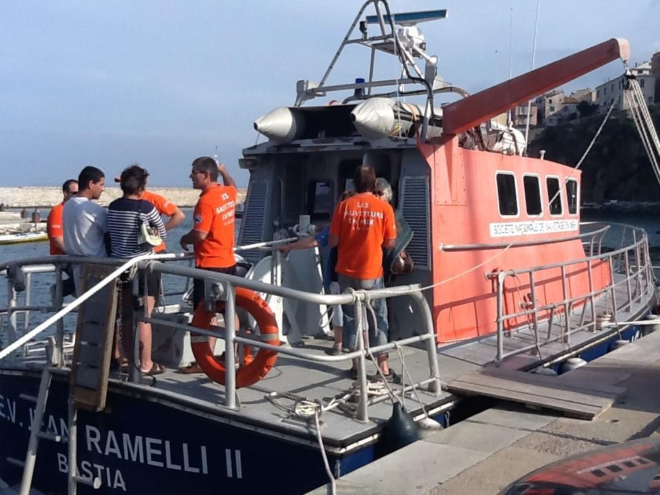 Le Jean-Ramelli, le navire de la SNSM