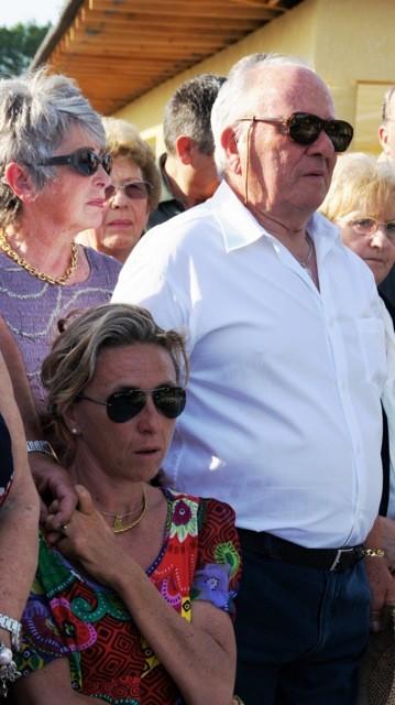 Les parents de Santa Grimaldi et sa sœur Karine