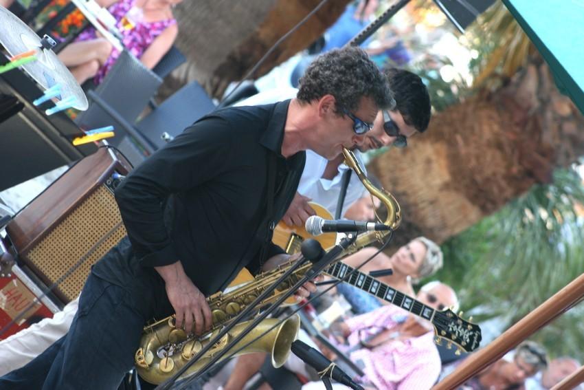 Le saxophoniste Eric Prost