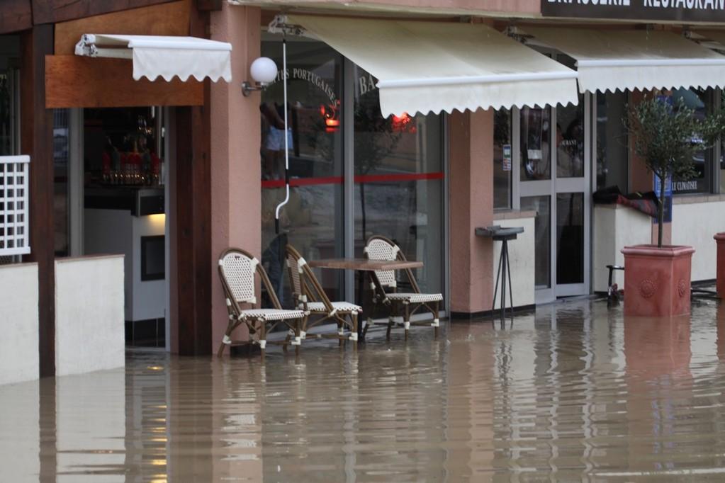 L'Alba inondé
