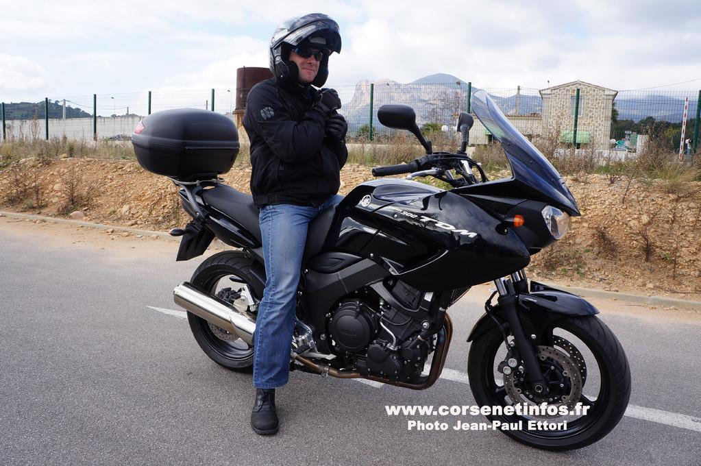 Une moto banalisée… pour lutter contre les comportements dangereux sur la route