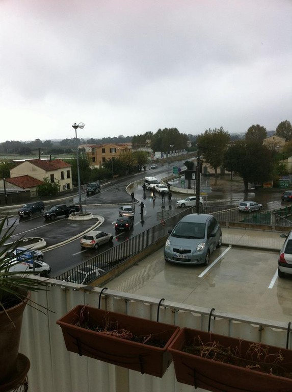 Route bloquée à Casatorra