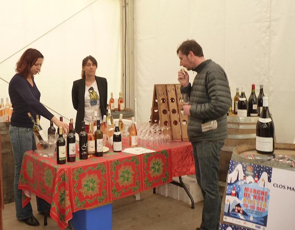 Les bons vins du clos Marfisi